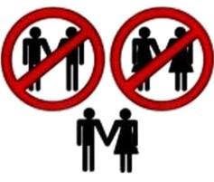 Resultado de imagen para no a la union homoxesual